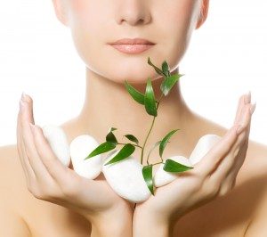 varm massage ansiktsbehandling